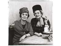 two ladies at the automat, n.y.c by diane arbus