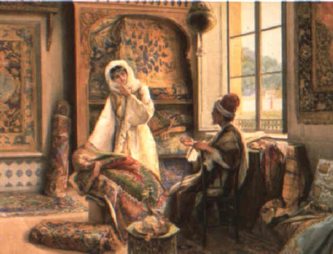At The Rug Merchant By Amedeo Momo Simonetti