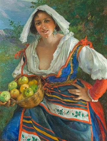 the apple seller by manuel gonzalez santos