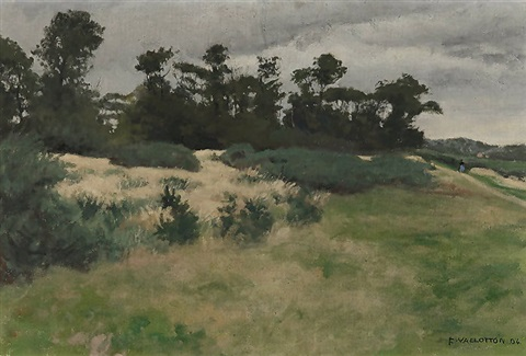 temps gris varengeville by félix edouard vallotton