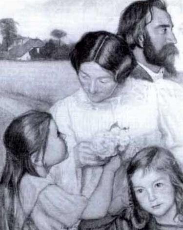 emile bernard och familjen van hausen by werner von hausen