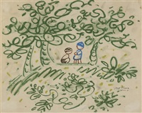 děti mezi stromy by josef capek