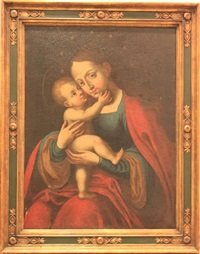 madonna mit christuskind (after lucas cranach) by german school (18)