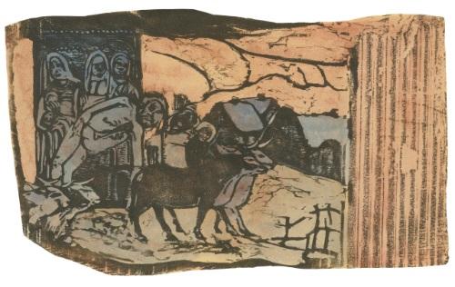 le calvaire breton by paul gauguin