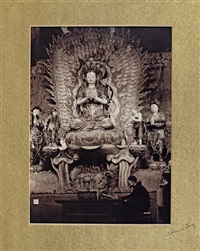 千手觀音 (a thousand hand buddha) by lang jingshan