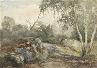 paysage rocheux by nathaniel hone the younger