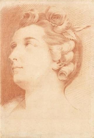 portrait de mademoiselle la chantrie de lopéra by jean baptiste marie pierre