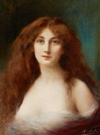 portrait de femme by angelo asti