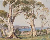 sydney coastal scene by james ranalph jackson