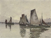 fishing vessels by robert henry fouques