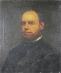 portrait of samuel myers by paul peel