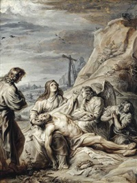 the lamentation by abraham van diepenbeeck