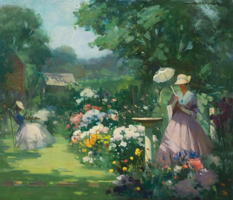 in my garden by marguerite stuber pearson
