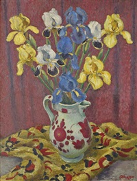 irises by adrian paul allinson