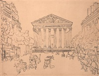 rue royale, la madeleine by max jacob