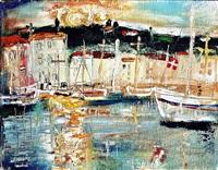 mediterranean port by josef jira