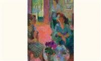 conversation autour du thé by suzanne kaehrling