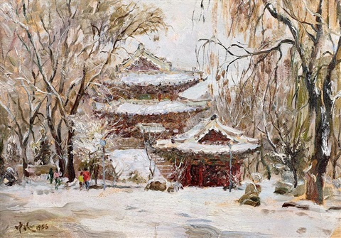 seasonable snow by ai zhongxin