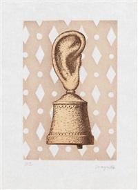 la leçon de musique (+ la folie almayer, lrgr; 2 works) by rené magritte