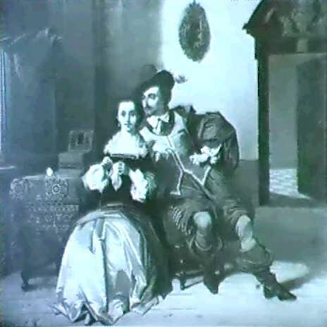 courtship by charles van den daele
