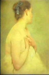 portrait de femme by amélie burdin