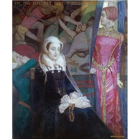 mary, queen of scots by john duncan