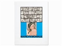 m is for marilyn monroe (from the alphabet) by peter blake