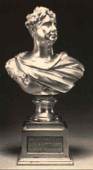 bust of george iv by (silversmiths) rundell bridge & rundell
