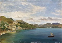 veduta di lerici by william henry bartlett