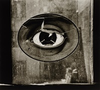 eye in window, new york by nathan lerner