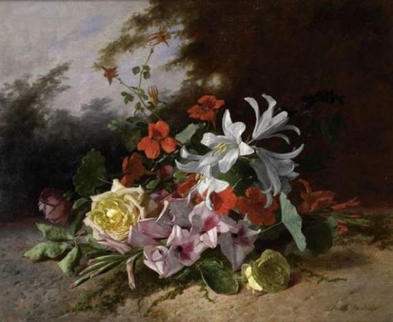 jetée de fleurs by david emile joseph de noter