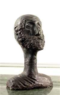 bust of tony o'malley by eamon colman