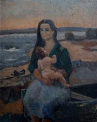 maternidad by carmelo de arzadún