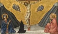 crucifixion avec une donatrice by taddeo di bartolo