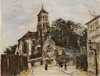 rue animée by marcel françois leprin