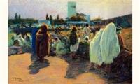 marché à tanger by pierre ribera