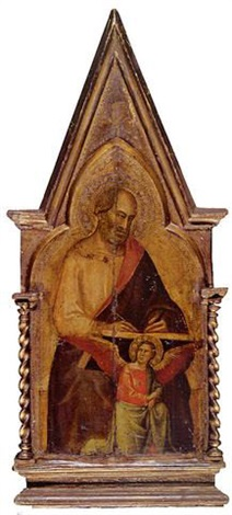 saint matthew pinnacle to the san giovanni fuorcivitas polyptych by taddeo gaddi