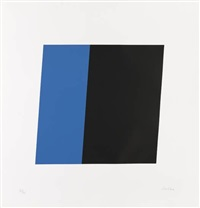 blue/black by ellsworth kelly