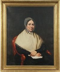 portrait of elizabeth koyler harper by samuel lovett waldo