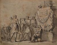 scène à l'antique by jean françois pierre peyron