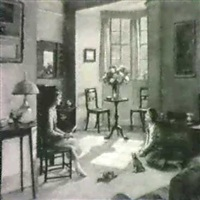 the sitting room by louis ginnett