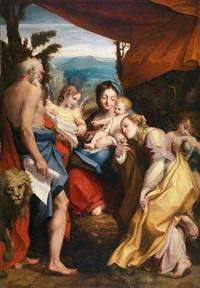 die madonna des heiligen hieronymus by correggio