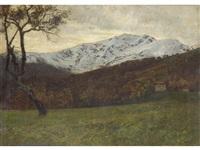 paesaggio by oreste silvestri