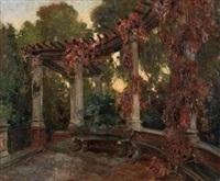jardín con balaustrada by gonzalo bilbao martínez
