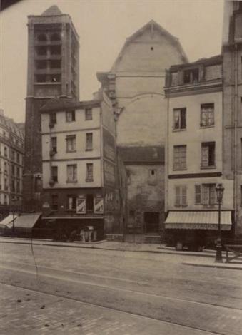 saint nicolas du chardonnet paris by eugène atget