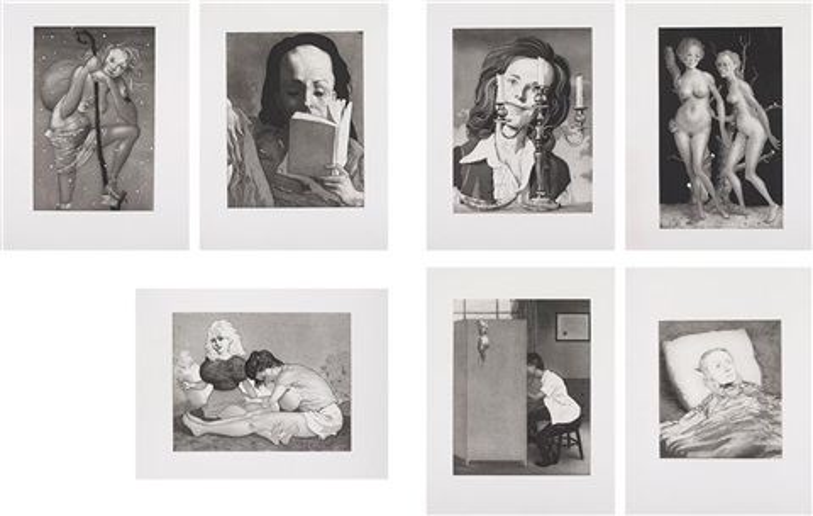 milestones portfolio (portfolio of 7) by john currin