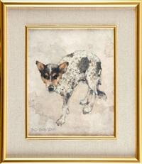obraz - portret obrzędowy - włóczęga 5 by jerzy duda-gracz