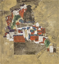 untitled (townscape) by shiavax chavda