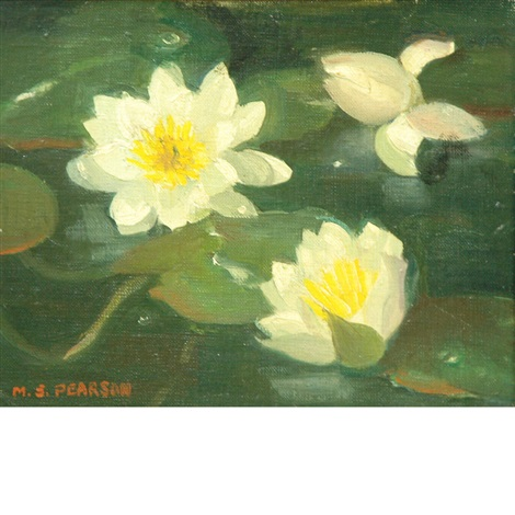 waterlilies by marguerite stuber pearson