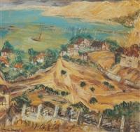 landscape from balcic by cornelia daniel babic